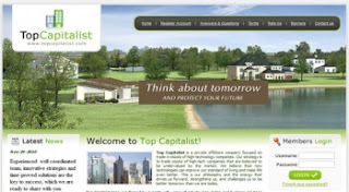 Top-Capitalist HYIP Program Review