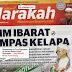 Breaking News ... Peguam Nik Aziz SAMAN HARAKAHDAILY RM10 JUTA