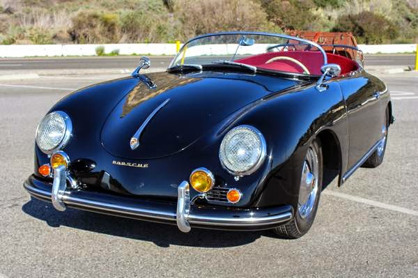 Professionally Restored 1956 Porsche Speedster