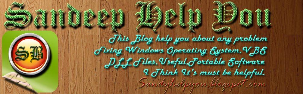 Sandeep Help You