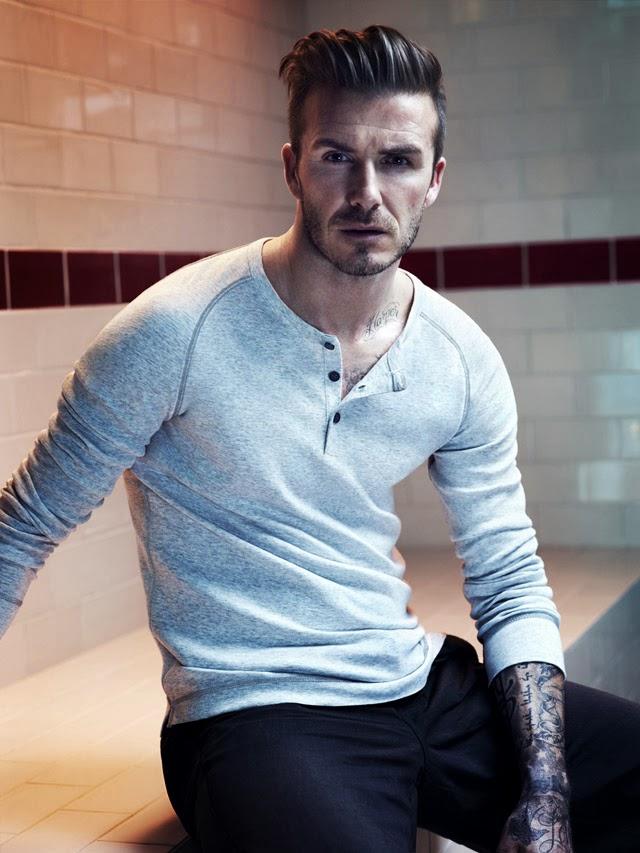 David Beckham Bodywear - Coleção Outono 2013 - H&M. Foto: Josh Olins / Divulgação