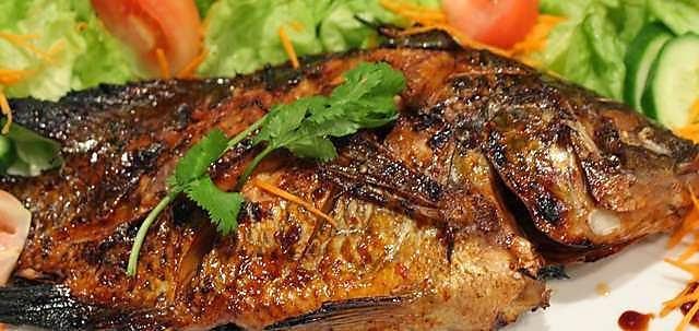 Usaha Sampingan Ikan Bakar