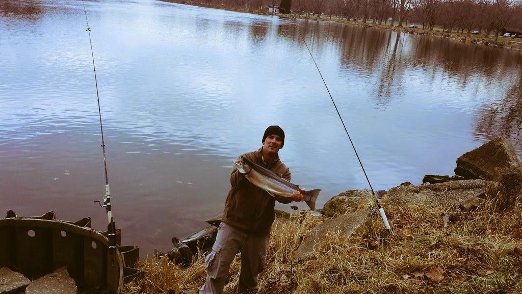 Lake michigan salmon fishing news from big bird charters for St joseph michigan fishing report