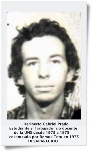 Heriberto Gabriel PRADO