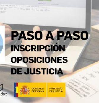 Inscripción pruebas selectivas Promoción Interna Letrados, Gestión y Tramitación