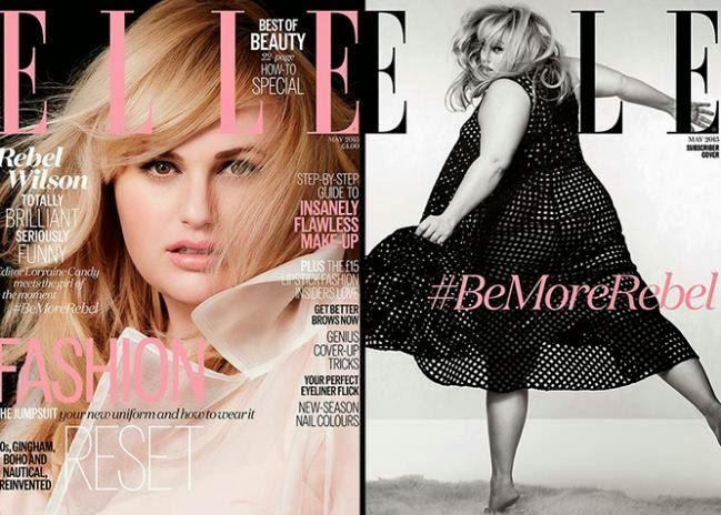 rebel wilson Elle magazine May 2015