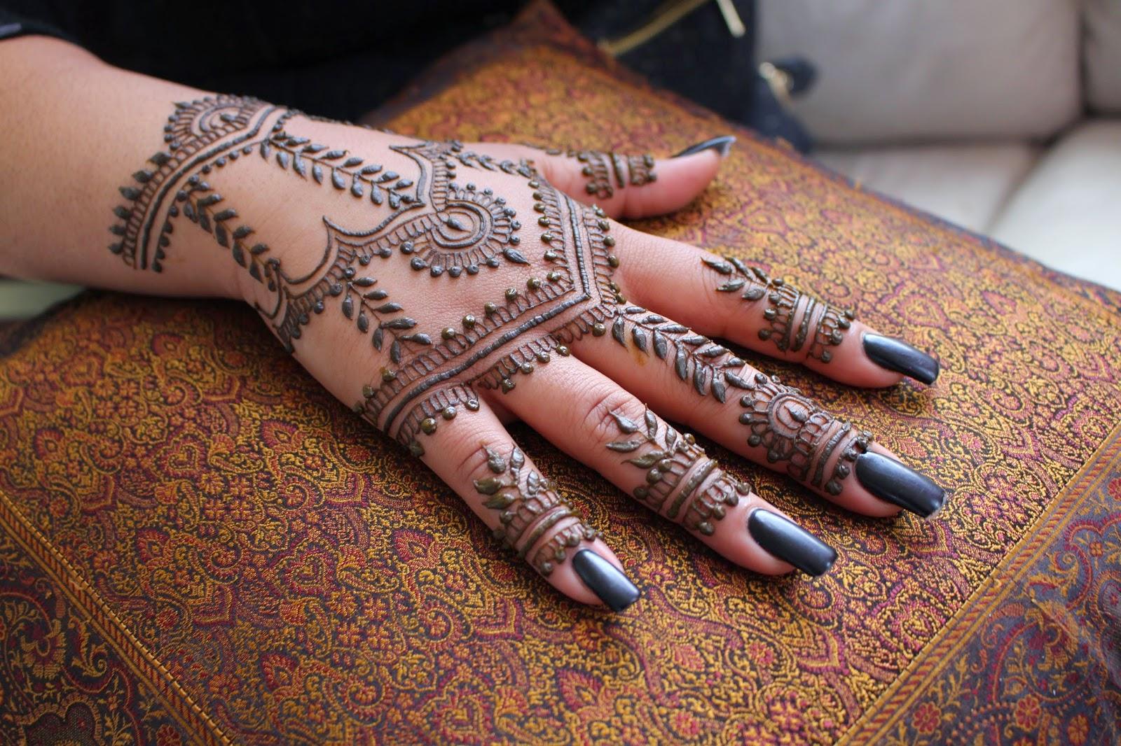 Mocha Henna