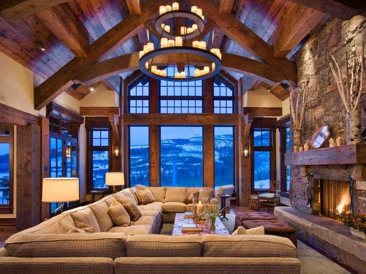 Rustic interior design most beautiful houses in the world for World most beautiful interior designs