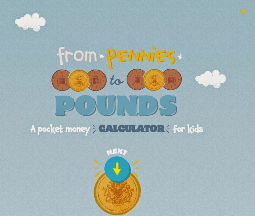 Pocket Money Calculator from Family Savings