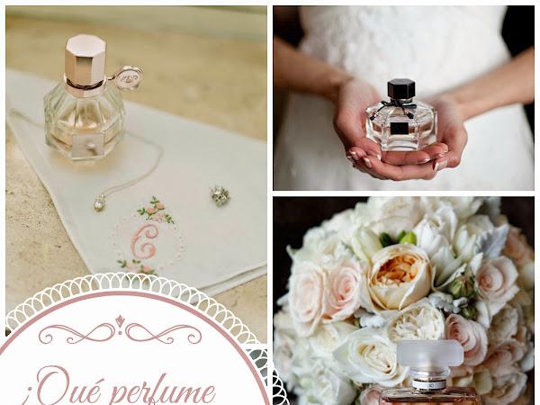 ¿Qué perfume puedo utilizar en mi boda?
