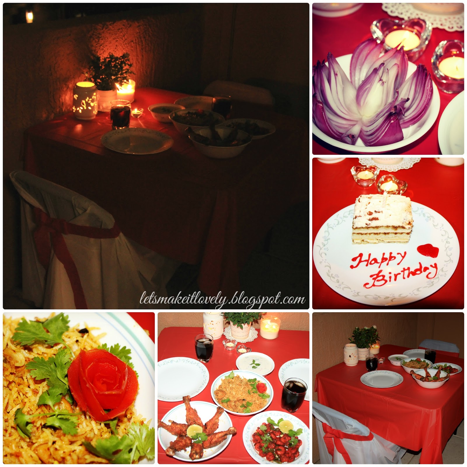 Let 39 s make it lovely 09 20 14 for Romantic meals
