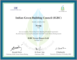 'Gold' Green Homes Certificate