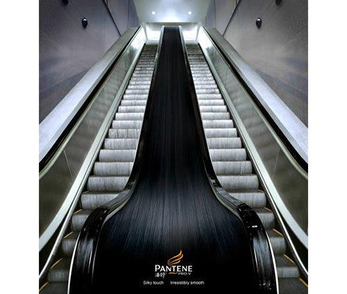 Pantene - Iklan stiker kreatif