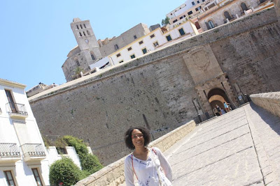 City walls of Ibiza