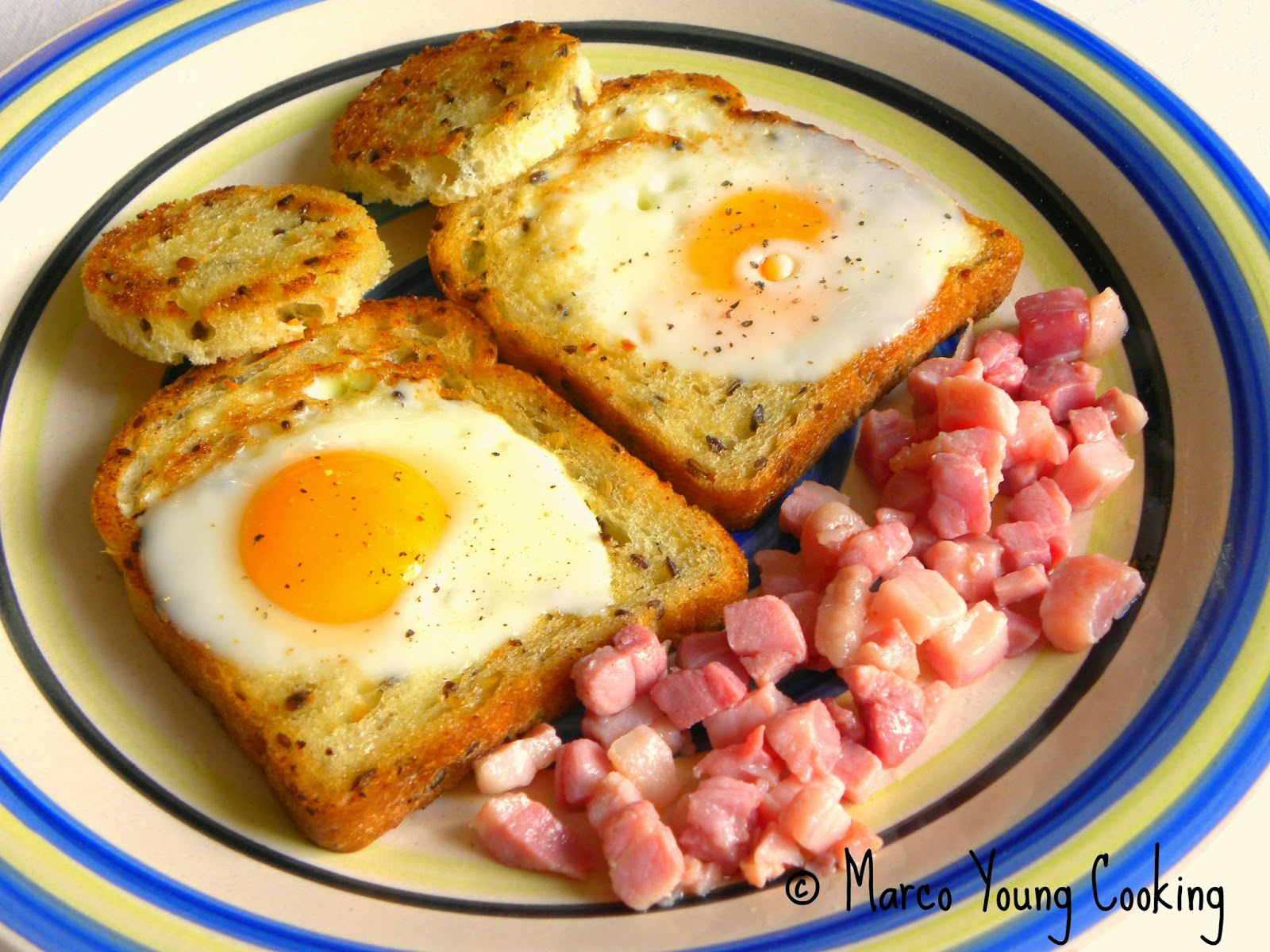 ricetta uova nel nido