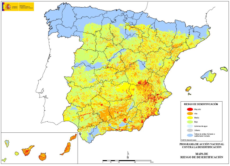 Las historias de doncel los desiertos en espa a for Ministerio del interior ubicacion mapa