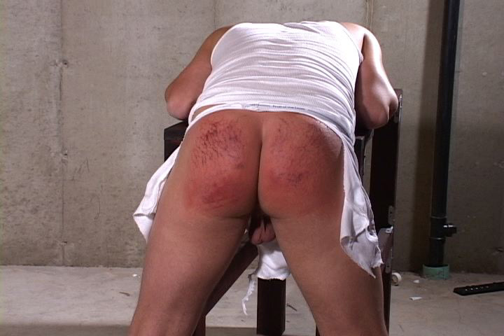 A man getting spanked: The twelve days of ass blistering