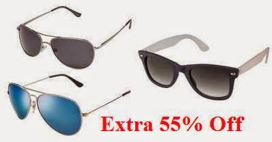 Flat 55% Off on Purchase of Sunglasses Minimum worth Rs.499 or above @ Lenskart