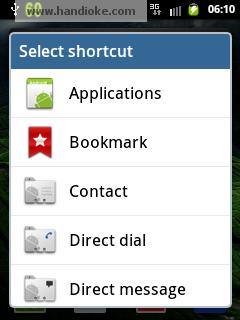 Select Shurcut