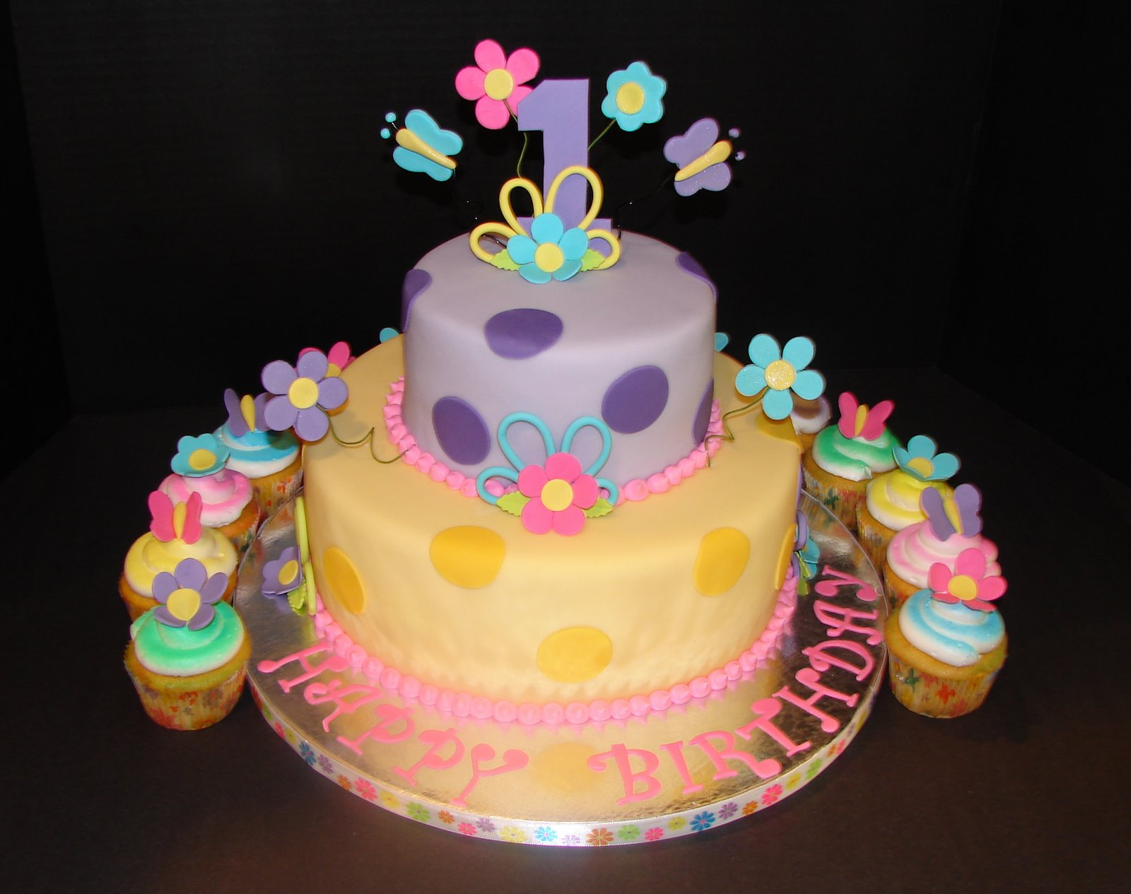 Birthday cake images for girls clip art pictures pics with for 1st birthday cake decoration
