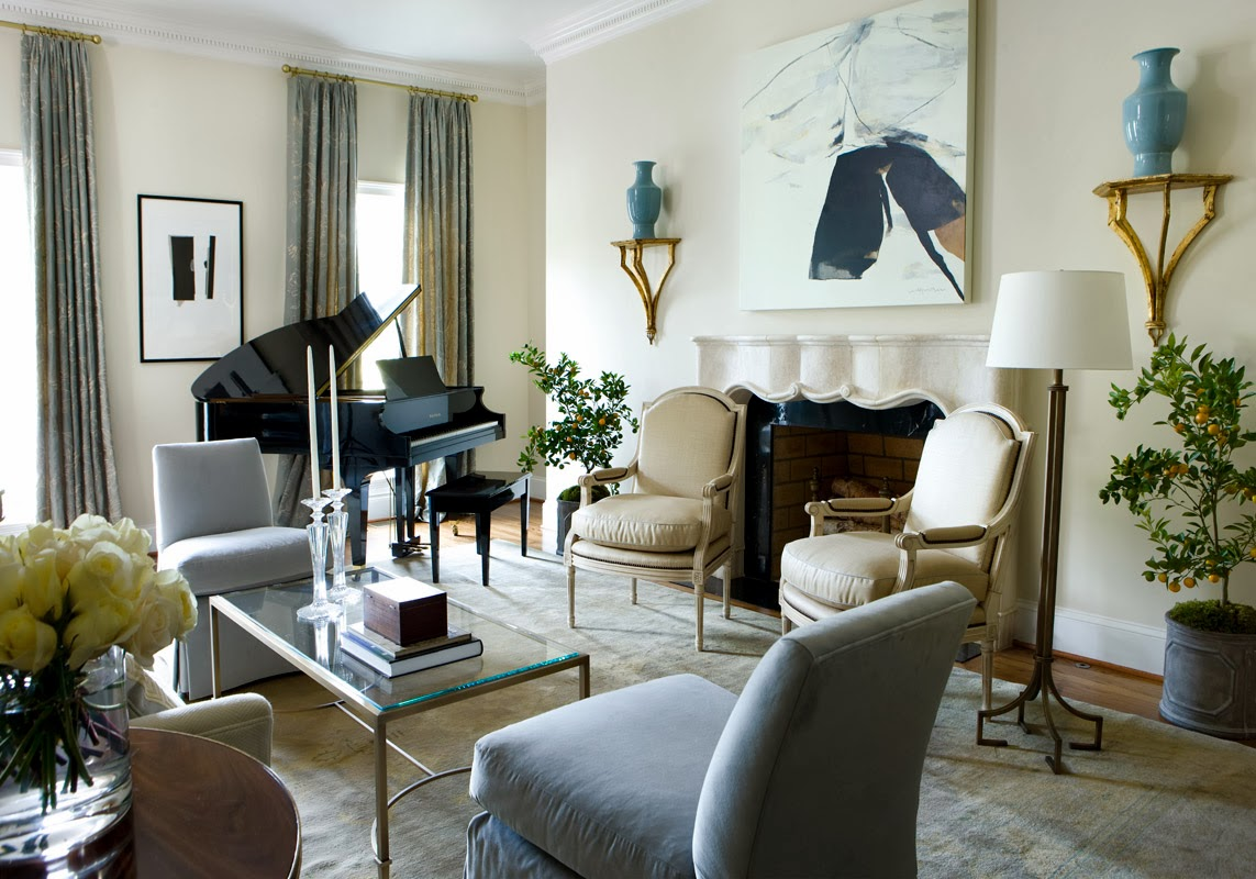 Tiffany leigh interior design advanced residential for Piano room decor
