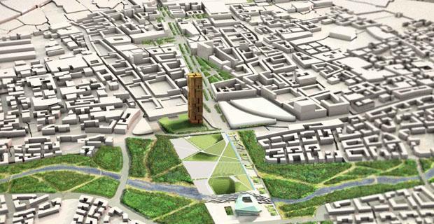 Abitarecostruire nuovo masterplan per tirana un for Master architettura