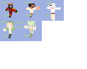 Minecraft skins are fun. I've made a new one for Raito recently .