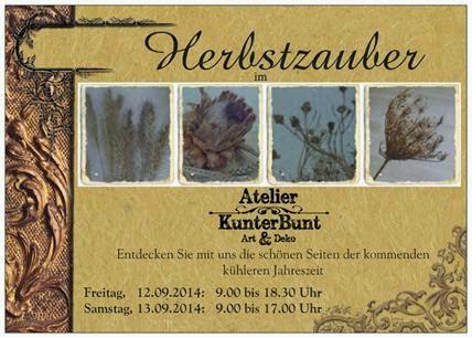 Herbstzauber bei Frau Kunterbunt
