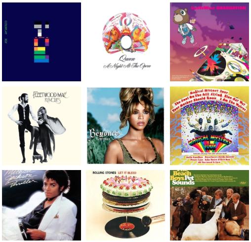 Monday's Music, Mondays Music, Mondays Music playlist, best albums playlist