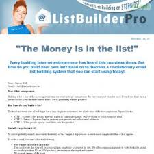 List Builder Pro - Easy List Building System review