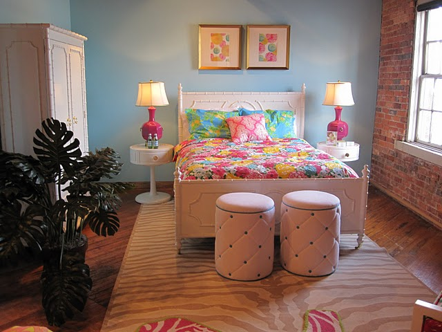 Totally Digging The Lilly Pulitzer Collection By Lee Jofa! Looks Fabulous  In This Urban Ish Setting At High Point, But It Would Be Right At Home In  Southern ...