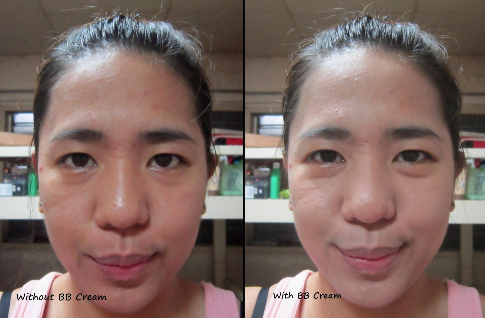 snail cream before and after