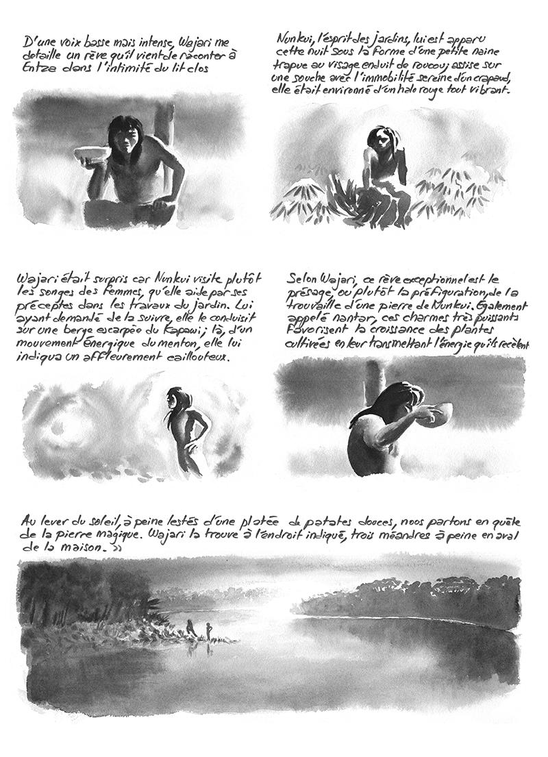 Wajari, Lances du crépuscule, Descola, Achuar, rêve
