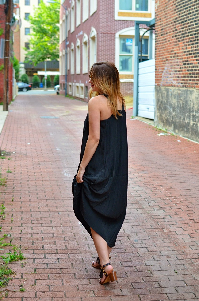tj maxx, maxi, dress, designer, discount, kate spade, saturday, blogger, dc, fashion
