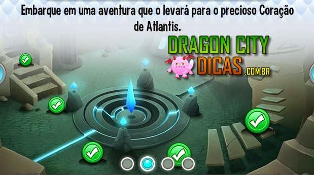 Ilha Atlantis - Mapa de Batalha