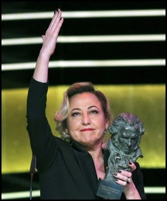 Premios Goya 2015: Carmen Machi (mejor actriz secundaria)