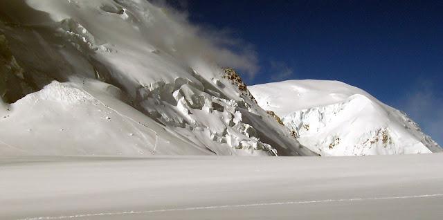 Mont Blanc du Tacul normal route