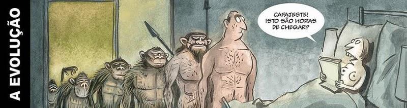 Arnaldo Angeli Filho: A Evolução - Cafajeste! Isso são horas de chegar?