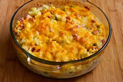 cheese leftover turkey or chicken shepherd s pie casserole with garlic ...