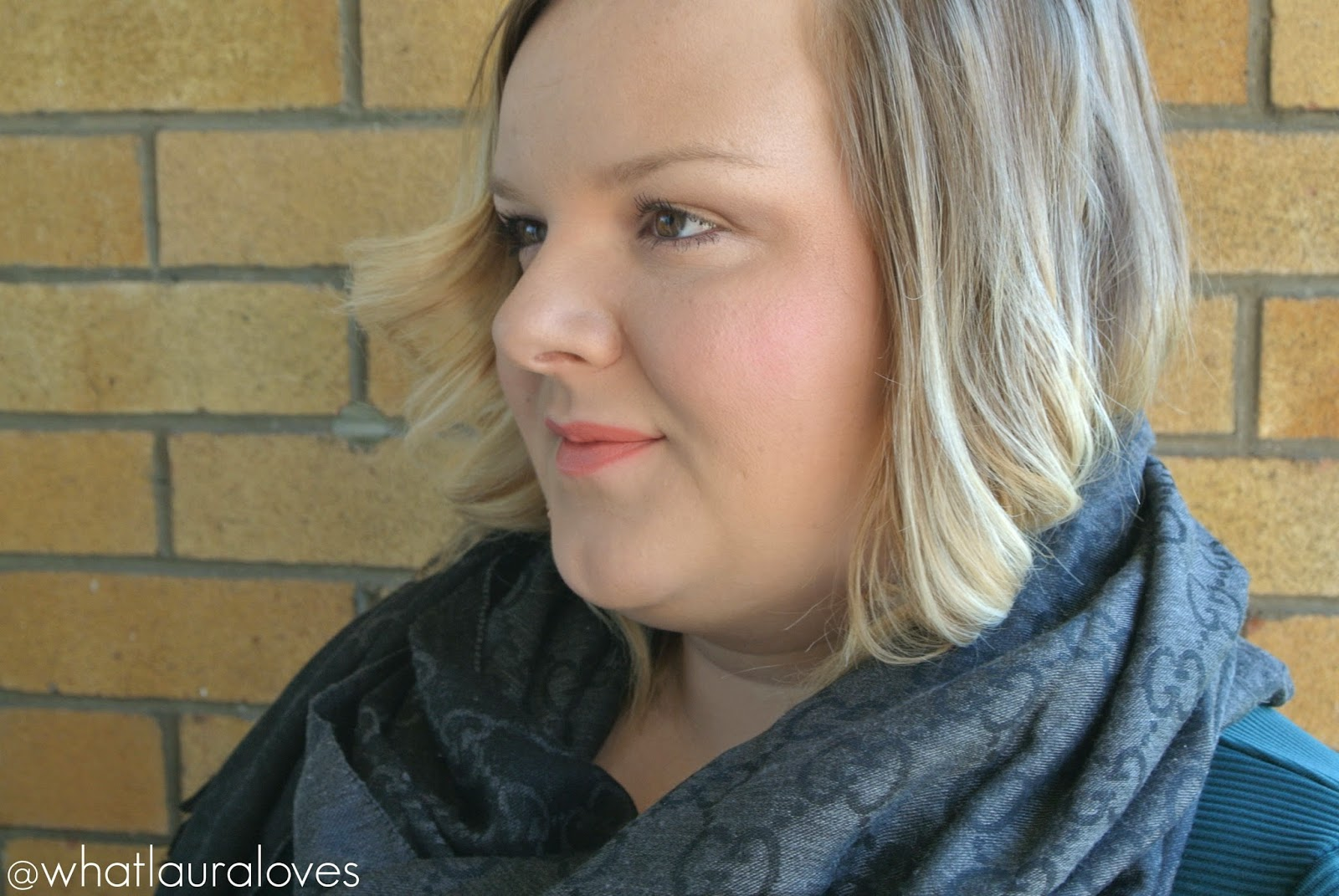 Makeup Revolution The One Blush Stick in Matte Rush worn on lips and cheeks Swatches and Review