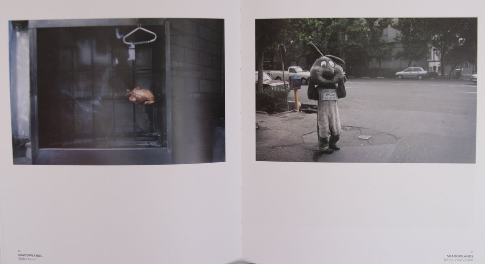 some essays and stuff i write about in uni irina csapo photography zadoc nava tehran from shadowlands photobook 2010