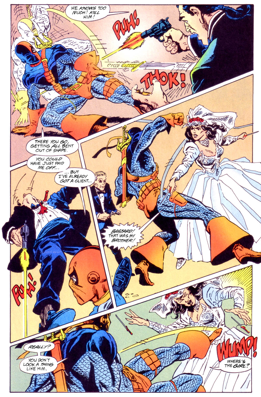 Deathstroke (1991) Issue #40 #45 - English 19