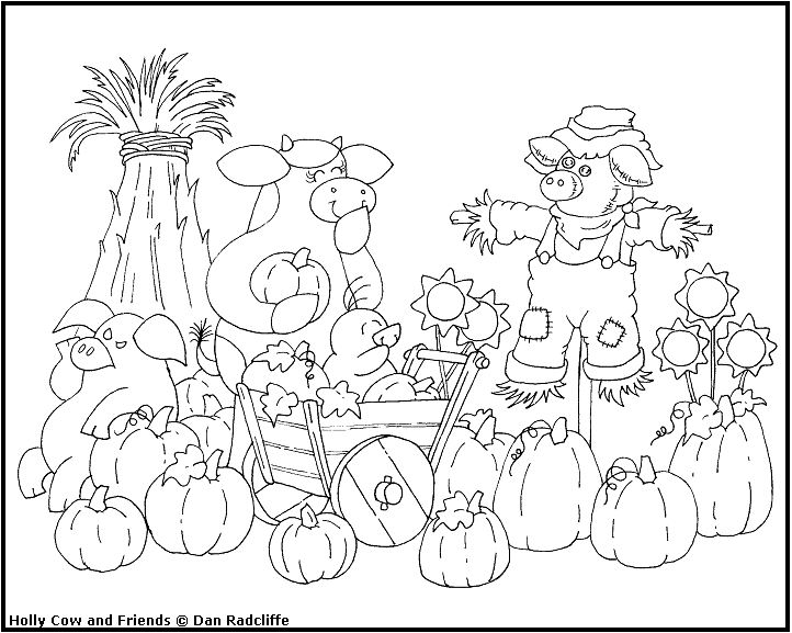 free colouring pages harvest festival holly cow s world happy birthday to me