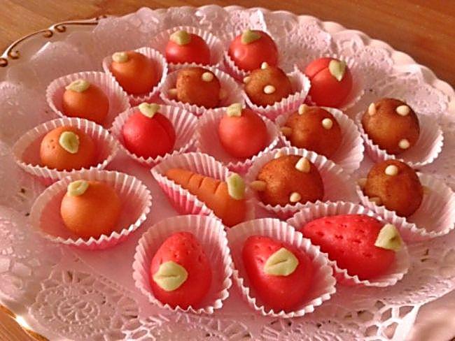 Frutas de mazapán de Sant Dionís