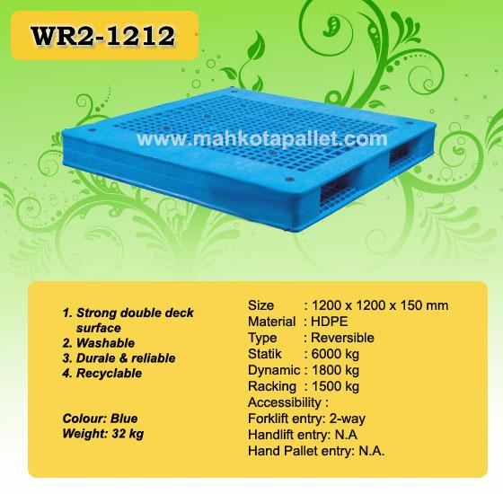 palet plastik WR2-1212