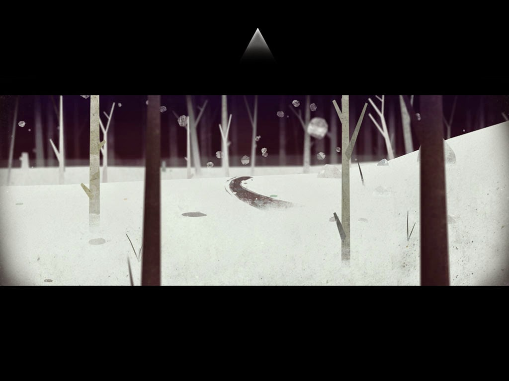 Year walk screenshot forest path