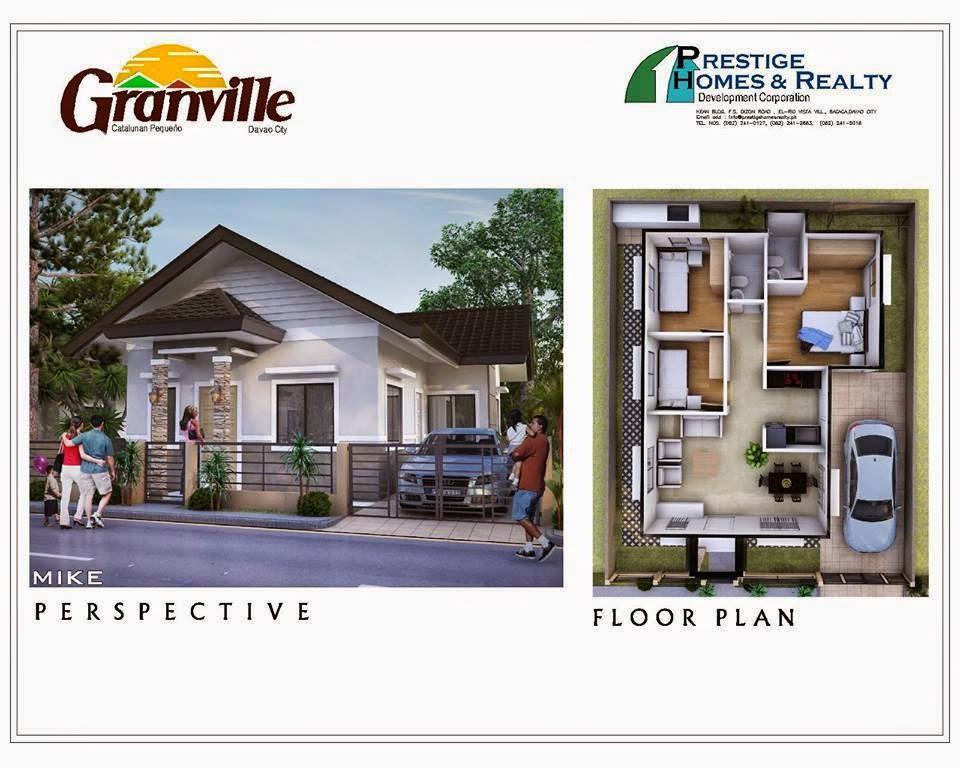 Mike House Model Granville Subdivisions Davao