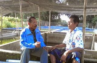 Belajar Budidaya Ikan Lele, KIM Citrorejo adakan Kunjungan