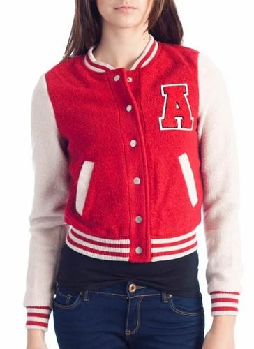 Woolen Varsity Jacket USD44.90 = RM244.58