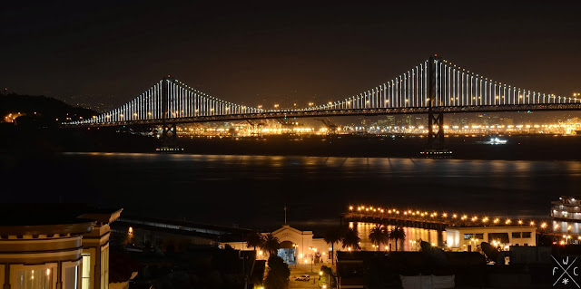 Bay Bridge, San Francisco Bay, California